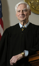 6th Judicial Circuit Chief Judge John P. Shonkwiler has been on the bench for nearly 45 years. Photo by John C. Dixon